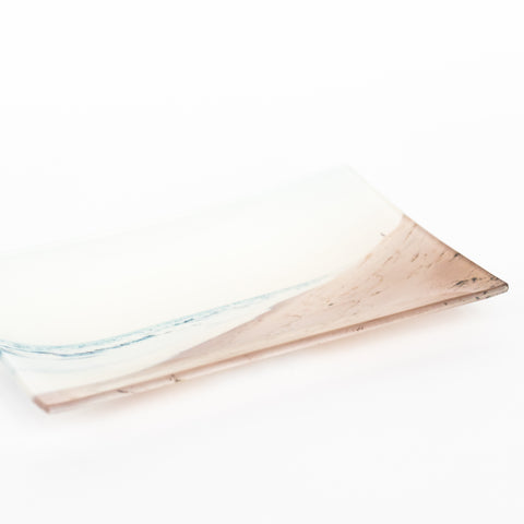 Glass Trinket Trays - Rectangular