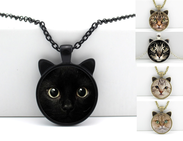 Collier Tête de Chat 3D