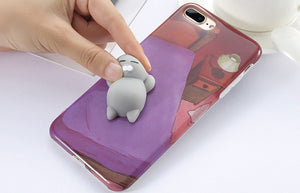 Coque Iphone Chat anti-stress