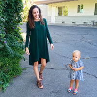 mom and me t-shirt dress patterns