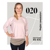 womens raglan sweatshirt pattern