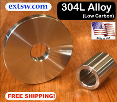 All 304 Alloy Stainless Washers and Spacers / FREE SHIPPING!