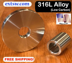 All 316 Alloy Stainless Washers and Spacers / FREE SHIPPING!