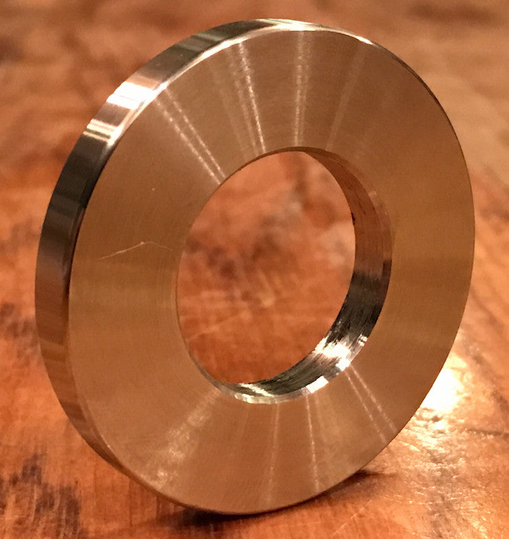 "1"" ID x 2"" OD x 1/4"" thick 316 stainless washer"