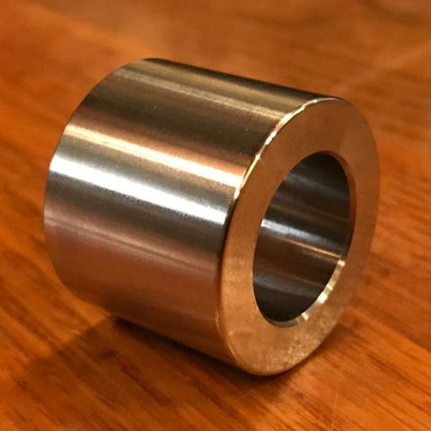 "extsw 3/4 / .754"" ID x 1 1/4"" x 1 inch long 304 stainless SHAFT spacer"