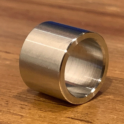 "extsw 1/2"" ID x .645"" OD x 1/2"" long 316 Stainless Spacer / Bushing"