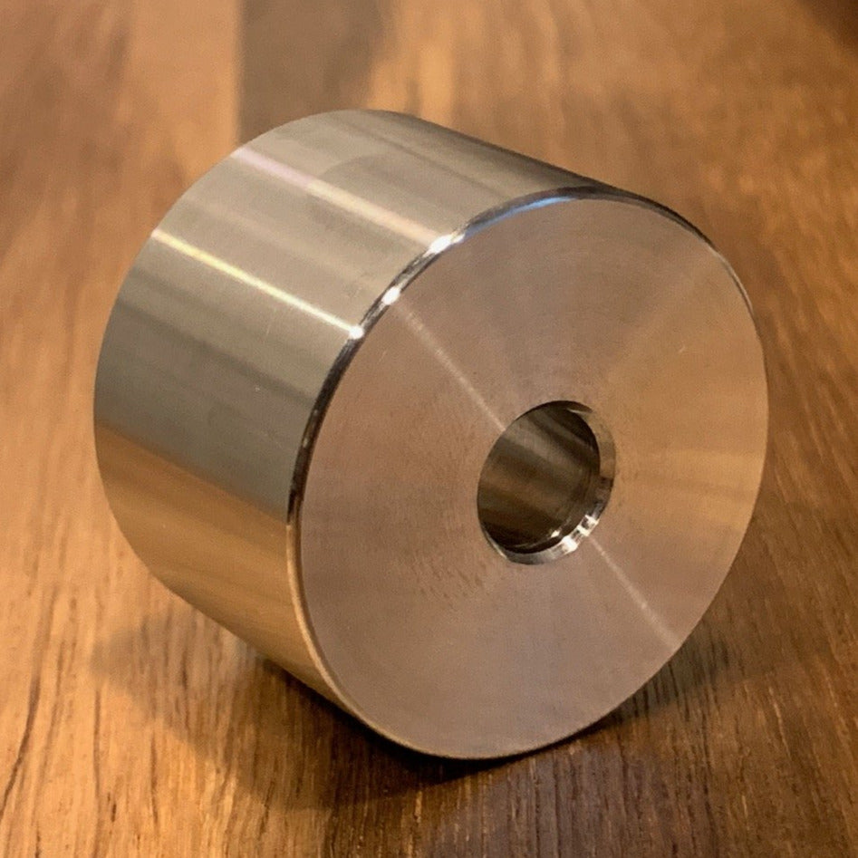 Custom EXTSW 10 mm ID x 31.47 mm OD x 22 mm thick 316 Stainless Steel Spacer / FREE SHIPPING