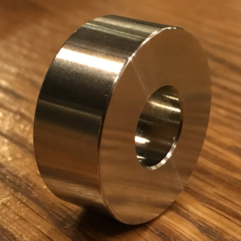 "extsw 1/2"" ID x 1 1/4"" OD x 1/2"" Thick 316 Stainless Spacer / Standoff FREE SHIPPING"