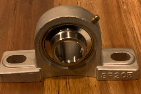 "1"" Bore Stainless Pillow Block Bearing  SUCSP205-16 NEW in Box!"