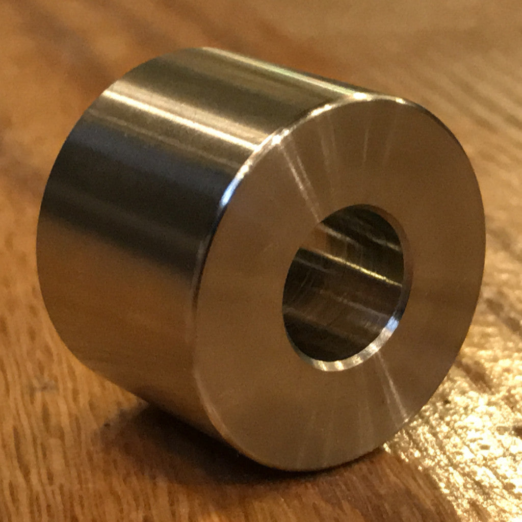 "extsw 1/2"" ID x 1 1/4"" OD x 1"" thick 316 Stainless Steel Spacer / FREE SHIPPING"