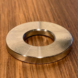 "Extsw 1/2"" ID x 1 1/8"" OD x 1/8"" thick 316 stainless washer / FREE SHIPPING"