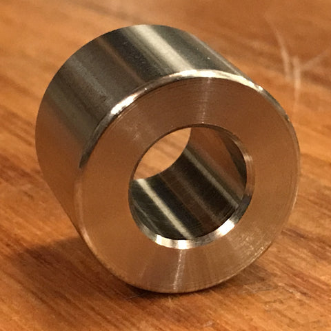 "extsw 1/2"" ID x 1"" OD x 5/8"" Thick 316 Stainless Spacer / FREE SHIPPING"