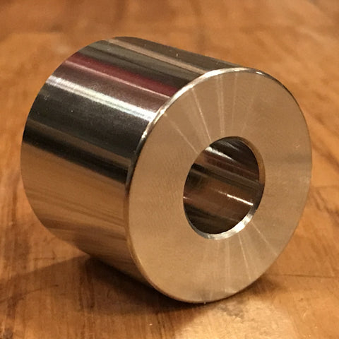extsw custom 13.21 mm ID x 31.5 mm OD x 25.4 mm thick 316 Stainless Spacer / Standoff FREE SHIPPING