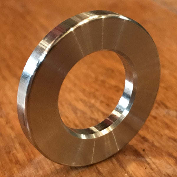 21 mm ID x 38 mm OD x 4.77 mm thick 304 Stainless Washer