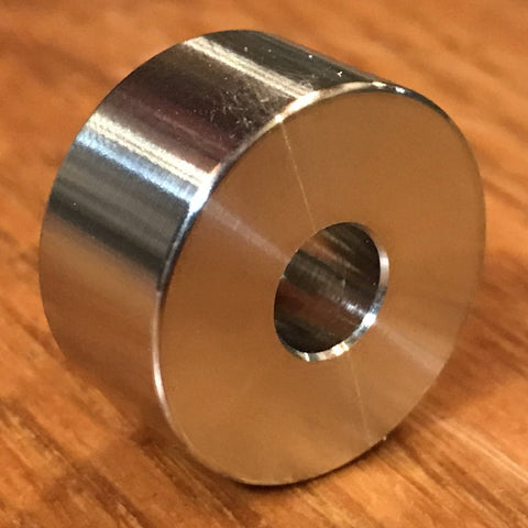 "Extsw 5/16"" ID x 1"" OD x 1/2"" Thick 316 Stainless Spacer / FREE SHIPPING"