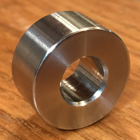 "7/16"" ID x 1"" OD x 1/2"" Thick 316 Stainless Spacer"