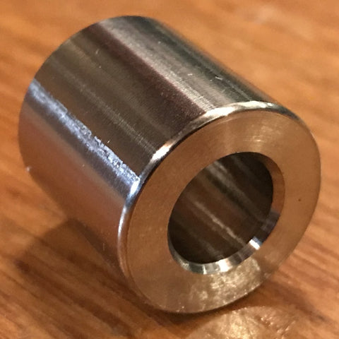 "extsw stainless spacer 3/8"" ID x 3/4"" OD x 3/4"" long"