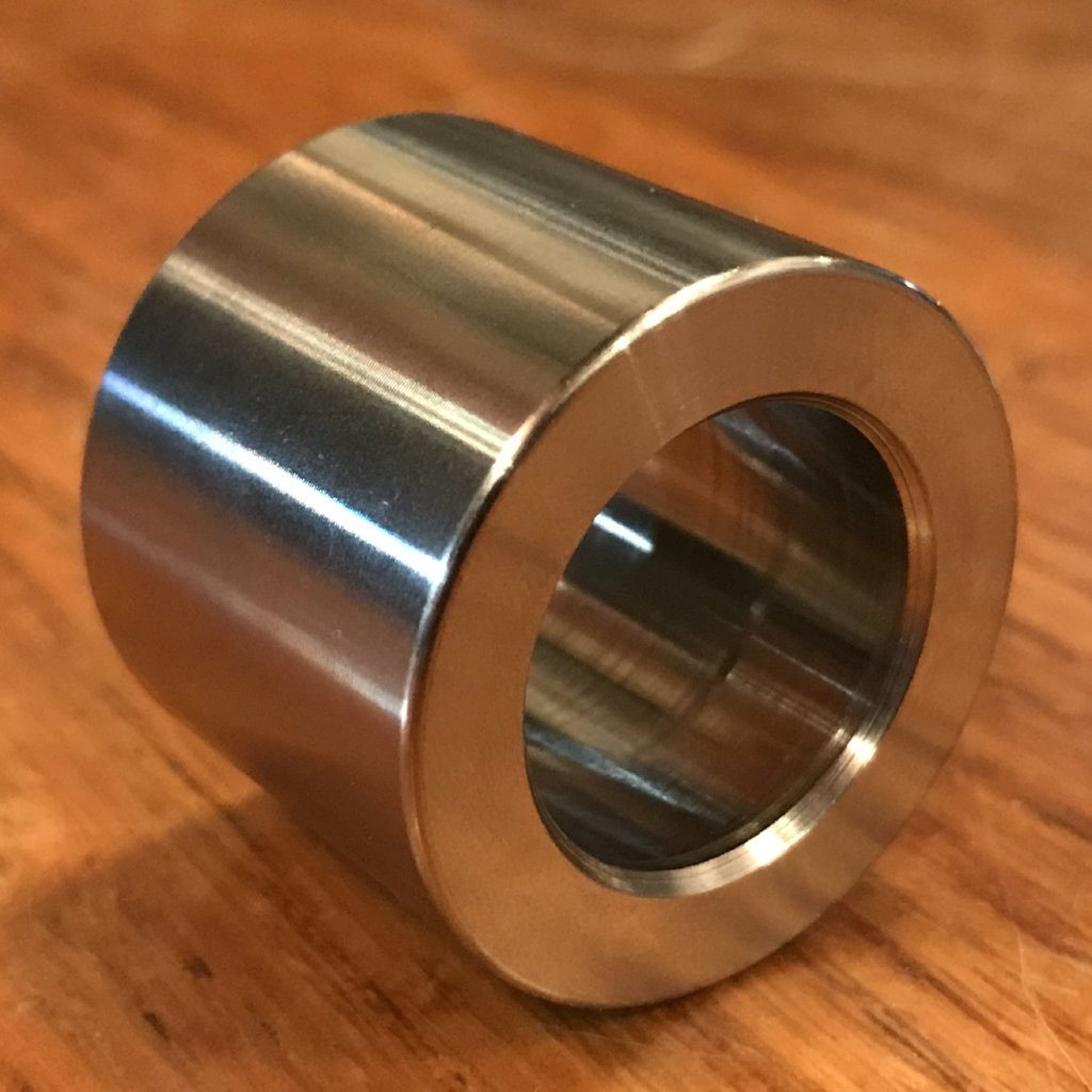 "extsw 3/4"" .784"" ID x 1 1/4"" x 1 inch long 304 Stainless Spacer / Standoff FREE SHIPPING"