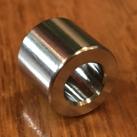 "Extsw 8.33 mm / 5/16"" ID x 13 mm OD x 9 mm Long 316 Stainless Spacer / FREE SHIPPING"