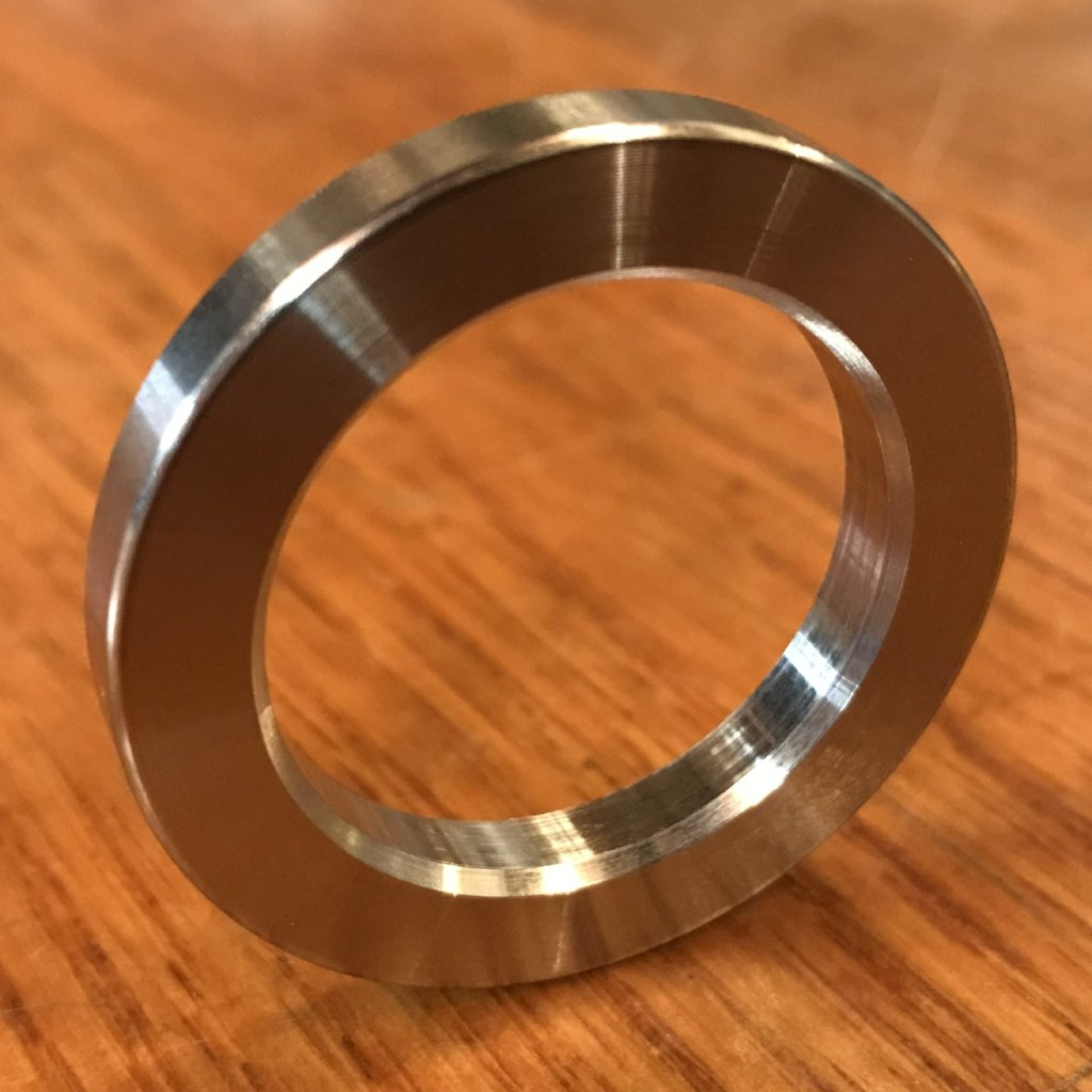 "(100 pc) Custom EXTSW 1.115"" ID x 1 1/2"" x 3/16"" Thick 304 Stainless Washer / FREE SHIPPING"
