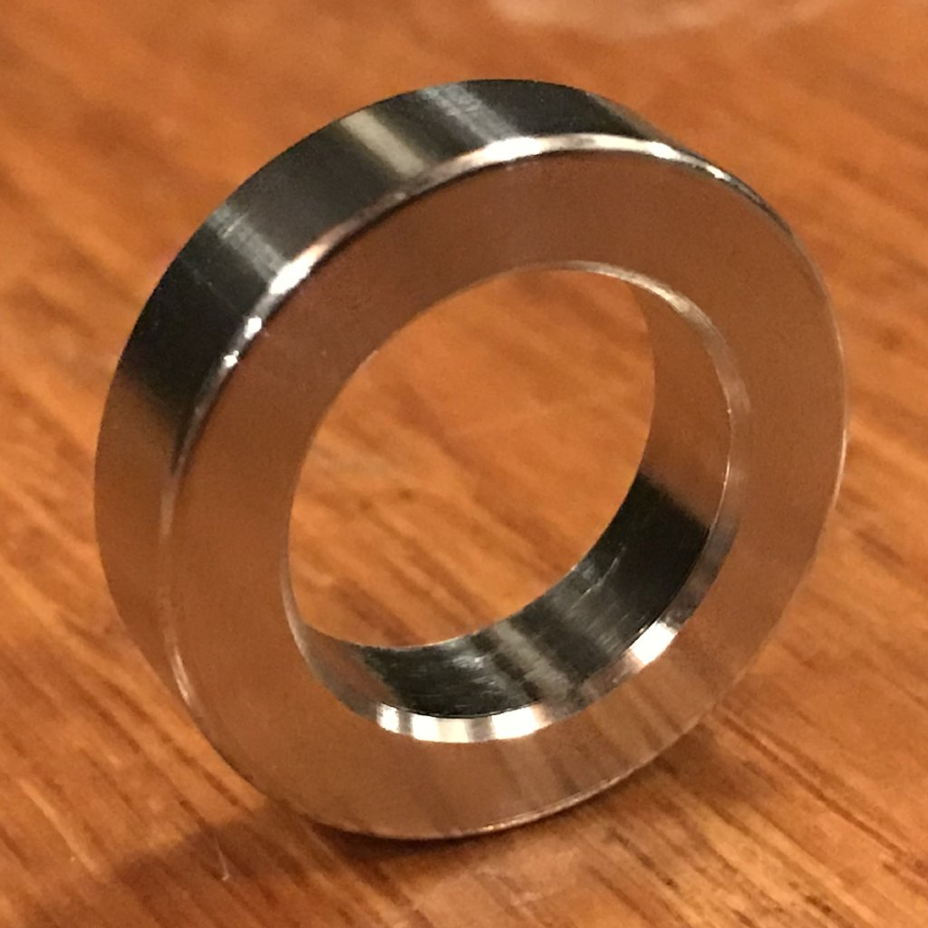 "Extsw 5/8"" ID x 1"" OD x 1/4"" Thick  304 Stainless Washer / FREE SHIPPING"