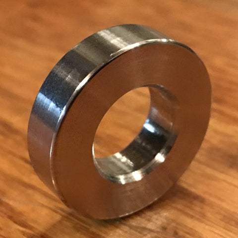 Extsw 12.5 mm ID x 25.1 mm OD x 6.35 mm Thick 316 Stainless Washer / FREE SHIPPING