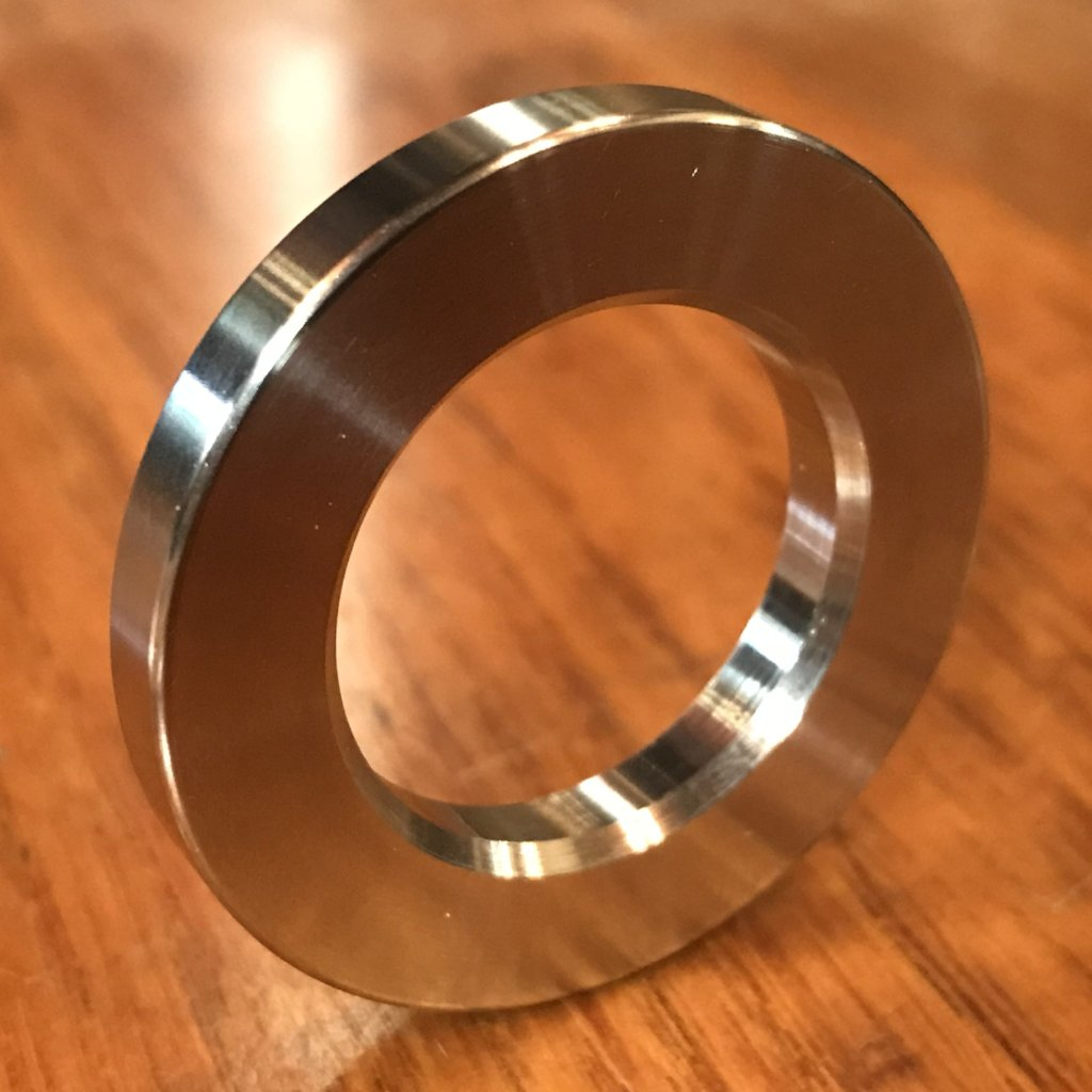 "extsw 7/8"" ID x 1 1/2"" OD x .142"" Thick 316 Stainless Washer"