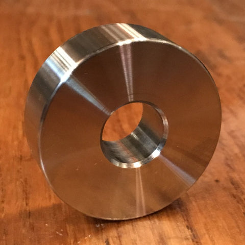 "extsw 1/2"" ID x 1 1/2"" OD x 1/2"" Thick 316 stainless spacer FREE SHIPPING"
