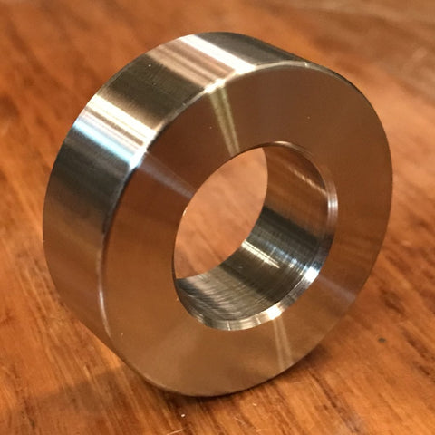 "extsw 3/4"" / .784 ID x 1 1/2"" OD x 1/2"" Thick 304 stainless spacer / FREE SHIPPING"