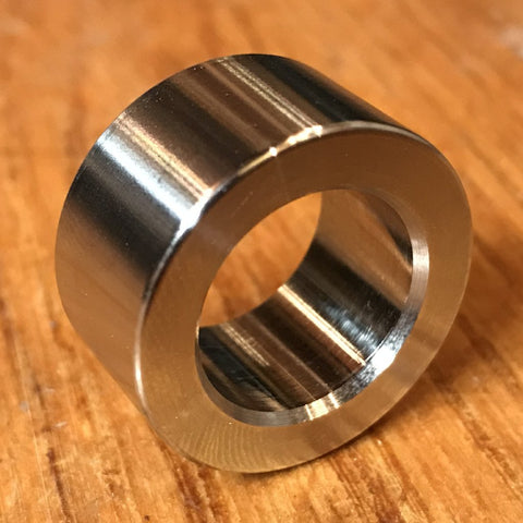 "(200 pc) Custom EXTSW 5/8"" ID x 1"" OD x 1/2"" Thick 316 Stainless Spacer / FREE SHIPPING"