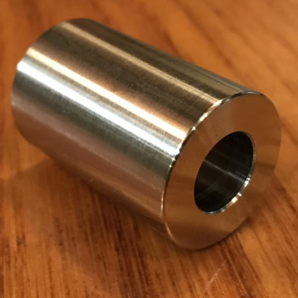 "extsw 1/2"" ID x 1"" OD x 1 1/2"" thick 304 stainless shaft spacer / FREE SHIPPING"