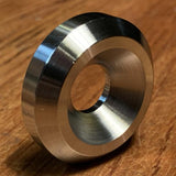 "extsw 1/2"" ID x 1 1/2"" OD x 3/8"" Thick 316 beveled stainless washer countersunk for 1/2"" flathead"