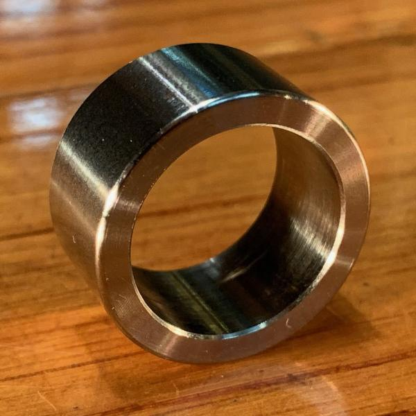 "extsw 3/4"" / .755"" ID x 1"" OD x 1/2"" Thick 304 Stainless Spacer / FREE SHIPPING"