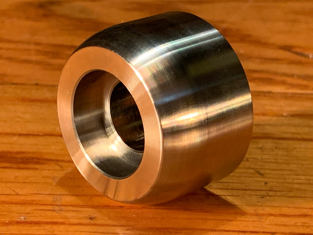 extsw custom (2 pc) 13.96 ID x 36 mm OD x 22 mm Thick  304 Stainless Spacer