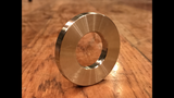 "1"" ID 316 stainless washer"