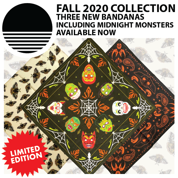 Fall 2020 Collection : Three New Bandanas