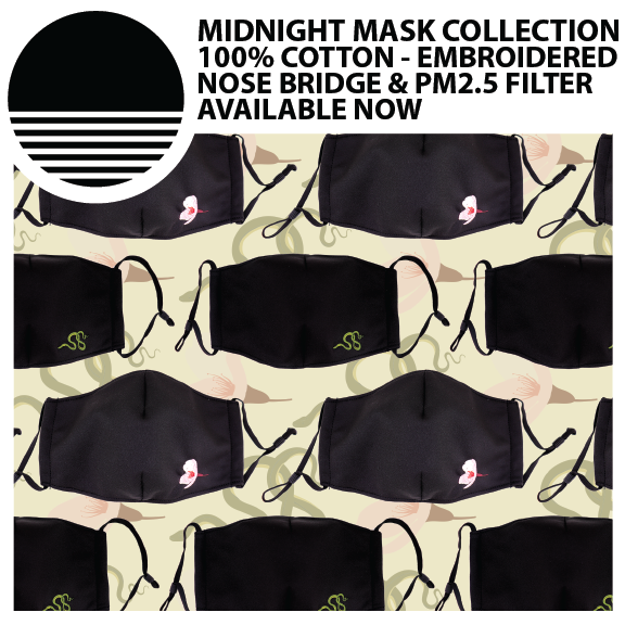 Fall 2020 Collection :: Premium Embroidered Masks
