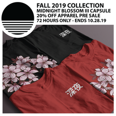 FALL 2019 COLLECTION :: MIDNIGHT BLOSSOM III CAPSULE