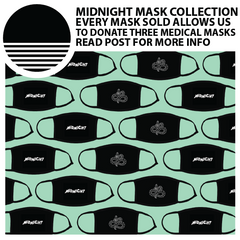 Midnight Mask Collection - Cotton Masks