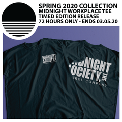 SPRING 2020 COLLECTION :: MIDNIGHT WORKPLACE TEE