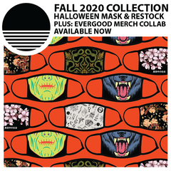 Fall 2020 Collection :: Halloween Mask & Restock