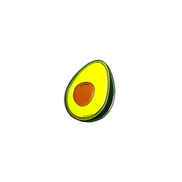 Ripe Avocado Enamel Pin