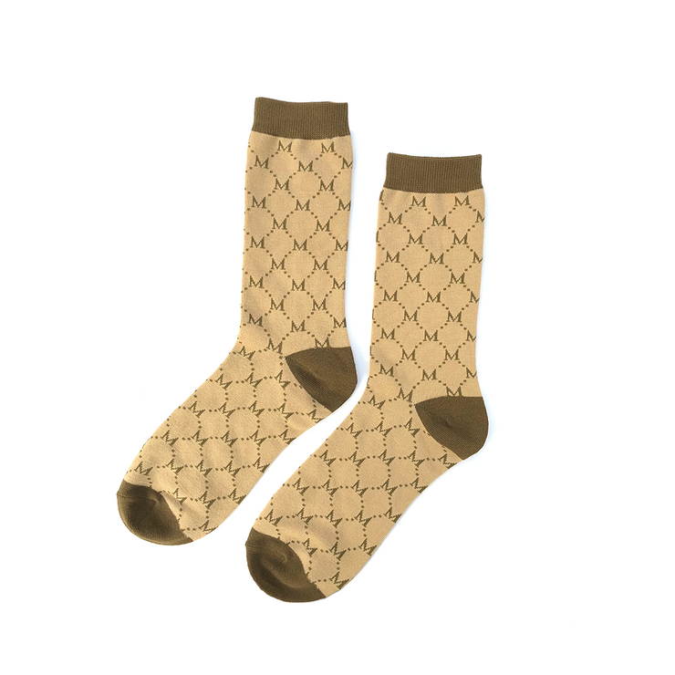 Midnight Bootleg II Socks (Monogram)