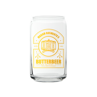 Butterbeer - 16oz Can Glass