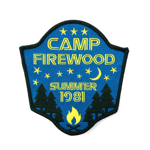 """Camp Firewood"" Patch"