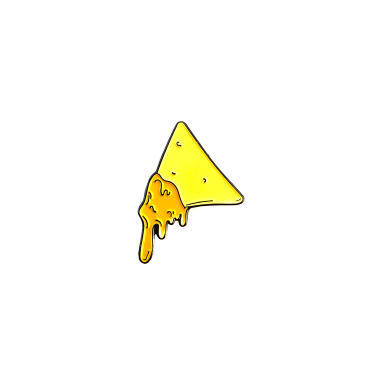 Cheesy Nacho Enamel Pin