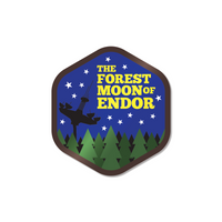 The Forest Moon of Endor Sticker