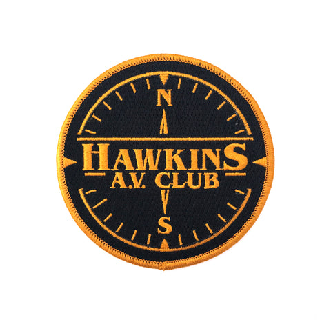 """Hawkins AV Club"" Patch"