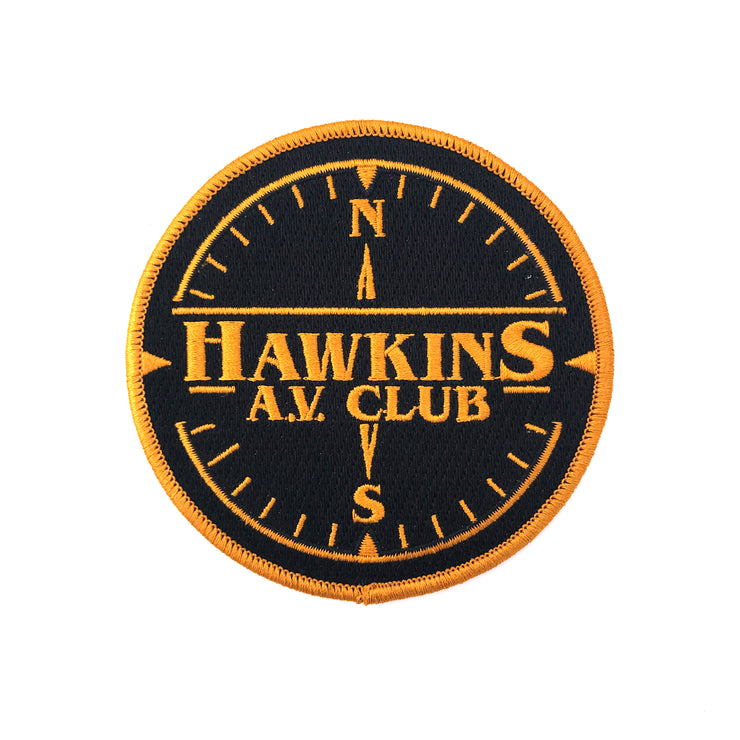 Hawkins AV Club Patch