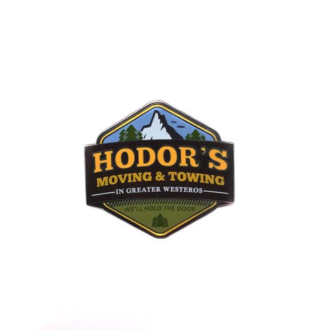 """Hodor's Moving & Towing"""